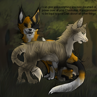 Crookedstar's Promise .: Warrior Cats :. by NeonWolfGlow
