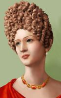 Flavian Woman Portrait by tartleigh