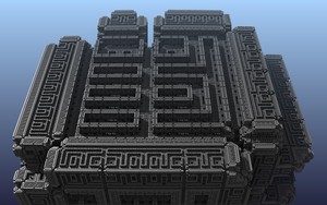 Borg Cube 2 by Theli-at