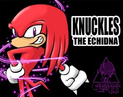 Knuckles XD by Clockwork-Lady-88