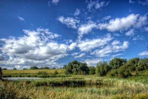 behind the dike by clochartist-photo