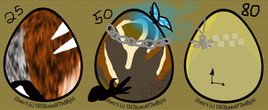 Eggs SOLD by emgeal