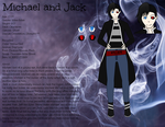 Michael and Jack Reference Sheet by Infectious10