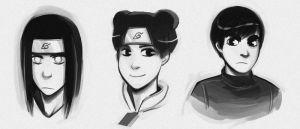 Team Guy Portraits by Blue-Ten