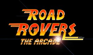 Road Rovers The Arcade Logo by MDTartist83