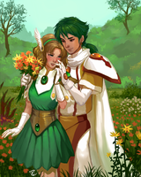 Flowers for Fuu by Salacia-of-Vanadiel