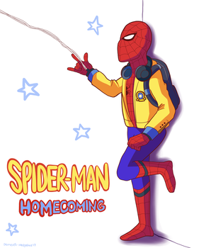 Spiderman Homecoming by Domestic-hedgehog