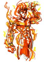 Human Torch by GEMWOLF