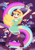 My name is Star Butterfly! by NUNUTHAHA