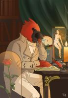 The Cardinal - Dr. Ferretson by Rill-Ao