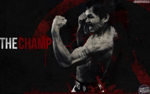 Manny Pacquiao Wallpaper by IshaanMishra