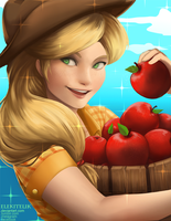 MLP Applejack by Elekitelik