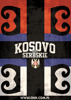 Kosovo is Serbia poster from Poland by N4020