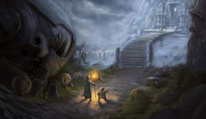 Ancient Dwarven Mines by Silveraxe