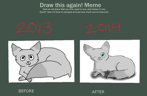 Draw this again -meme by xSpaceWolfx