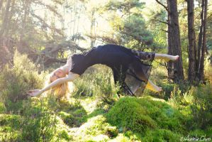 Levitation with Maggie by AurelieChen