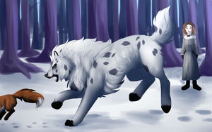 Quick Fox and the Lilac || Rite of the Hunt by Amiookamiwolf