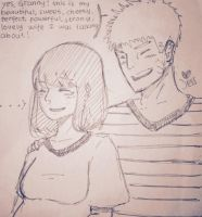 naruto loves to brag about his wife by Jesslynnnj