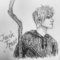 Jack Frost sketch by Narikoh
