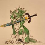 I have come to apply for the Hero position. by HyruleUnicorn