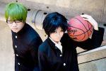 KnB - Midorima and Takao by eriotiku