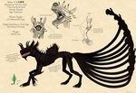 The Ten-Tails: Character sheet by Silver-weed
