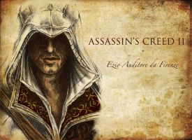 Ezio Background by Haddrian