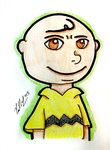 Why Are You Smiling Charlie Brown by chelano