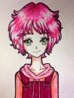 CL Aelita Schaeffer in pen  by artycomicfangirl