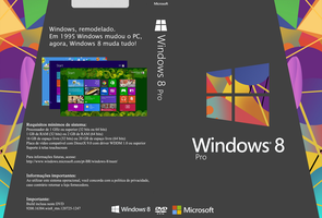 Cover Windows 8 Pro (PT-BR) by GustavoVS
