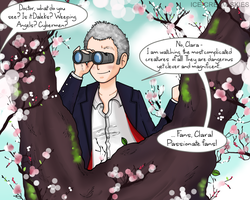 The Doctor in a Tree by ice-cream-skies