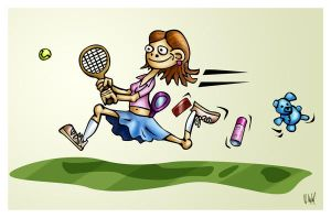 ...and of course tennis by hokic
