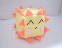 Sun Cube Plushie by Cube-lees
