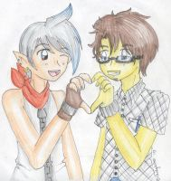 Zeri and Akio .:for Tarulimint:. by CandySkitty
