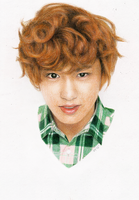 exo chanyeol for ivy club by juliatu