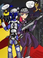 Jango-Zam: A Tense Partnership by Hapo57