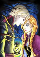 Kristoff and Anna by TheFatalImpact