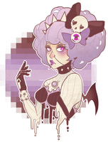 .Pastel Goth. by deer-flower