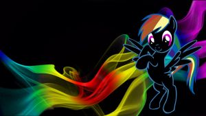 rainbow dash smoke :D by donnybuy
