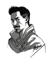 Sketch of Dorian by MellorianJ