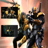 Injustice Deathstroke by BatNight768