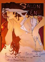 copy of Mucha Salon des Cent by FunkyShaeri