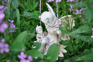 The Fae In The Garden by B-A-B-E