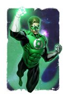 Green Lantern Colors by RobertAtkins