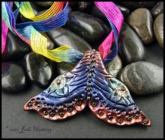 Polymer Clay Mermaid Tail by andromeda