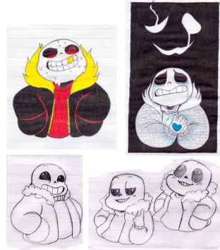 sans doodles by Animalice