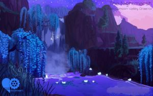 World of Warcraft - Shadowmoon Valley by Clock--Heart