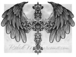 cross tattoo drawing by jacksonmstattoo