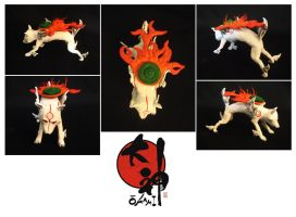 Amaterasu Sculpture by mAd-ArIsToCrAt