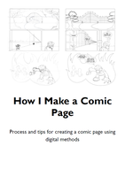 How I Make a Comic Page by Digi-fish